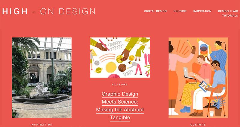 10 blogs de diseño High On Design