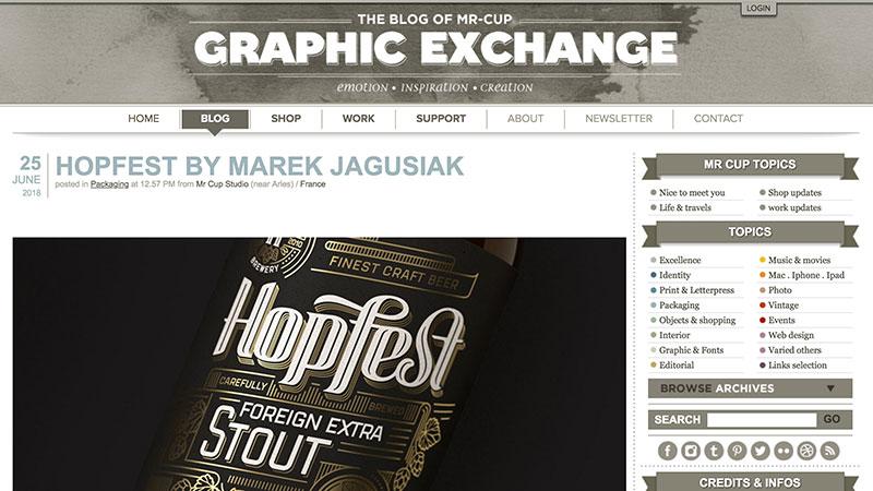 10 blogs de diseño The Blog of Mr. Cup–Graphic Exchange