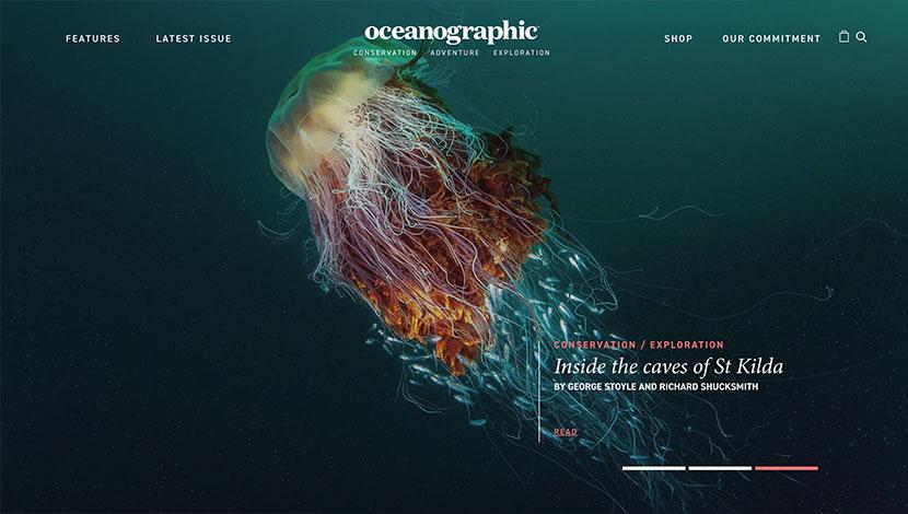 10 mejores ecommerce de julio Oceanographic Magazine