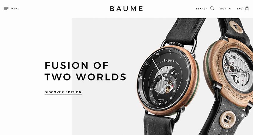 Las mejores tiendas online de noviembre Baume Watches