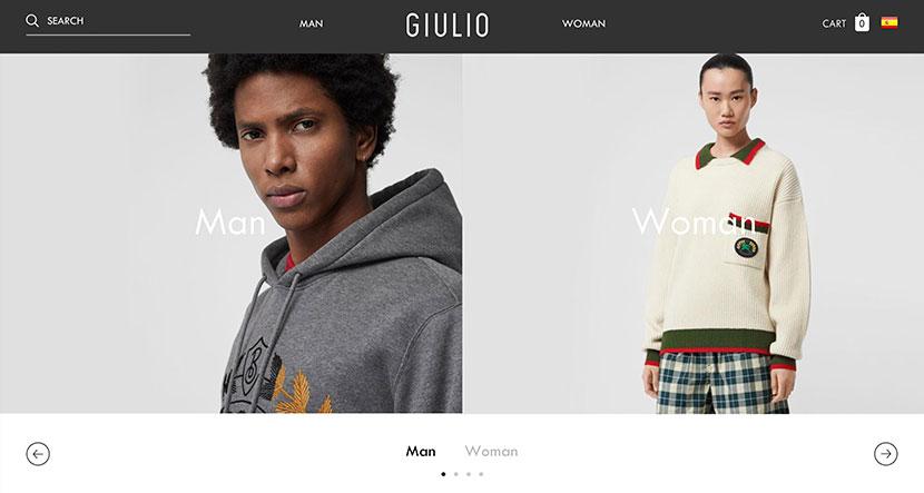 Las mejores tiendas online de noviembre Giulio