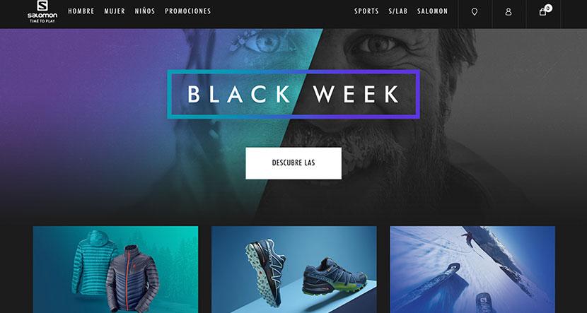 Las mejores tiendas online de noviembre Salomon
