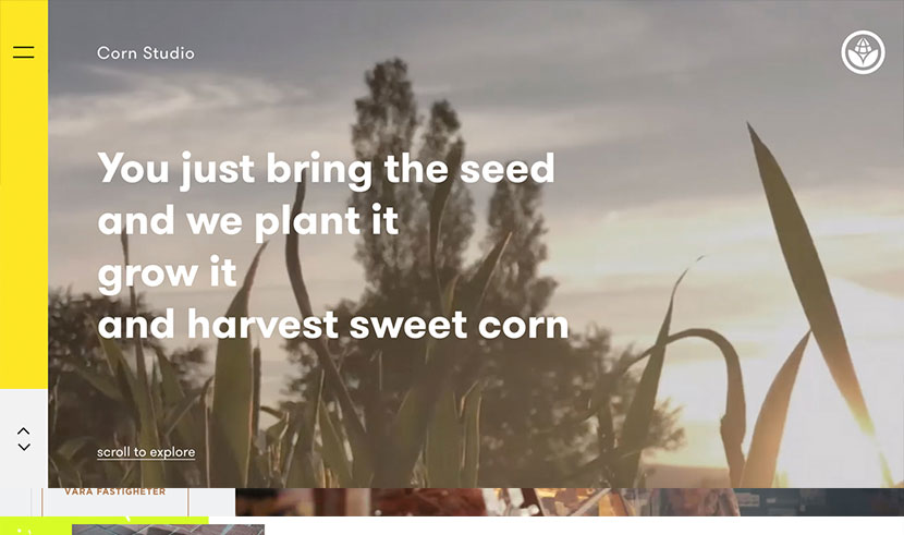 tendencias en diseño web de 2019 Corn