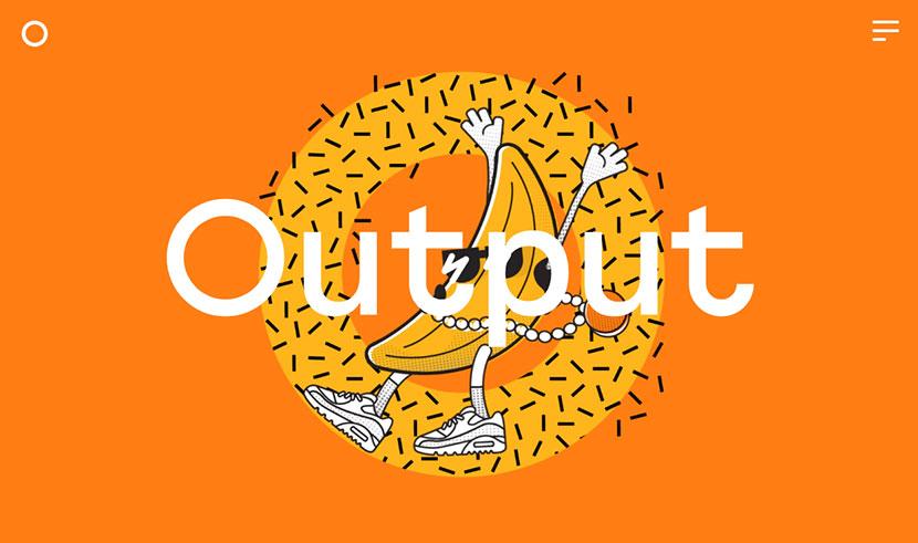 tendencias en diseño web de 2019 Output