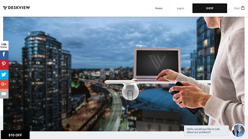 Los mejores e-commerce Desk View