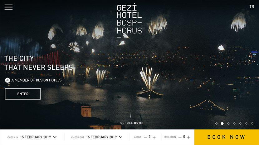 Los mejores e-commerce Gezi Hotel