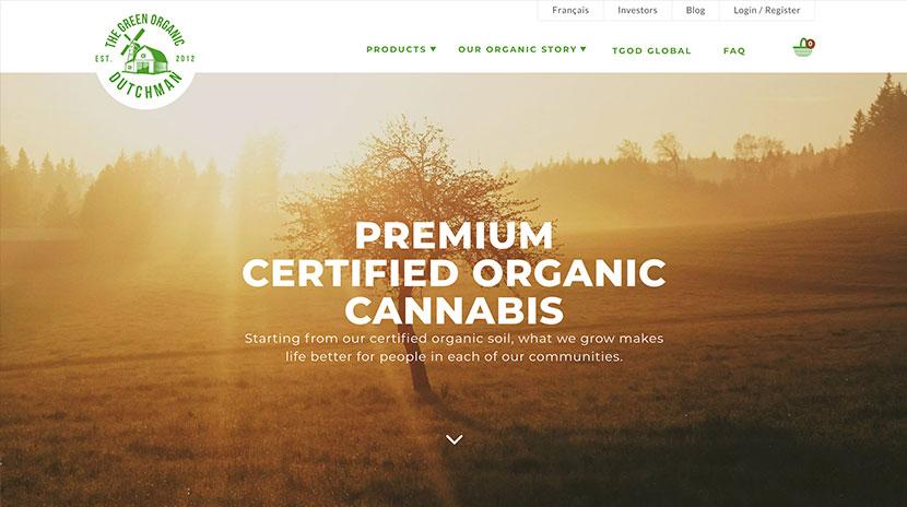 Los mejores e-commerce Green Organic Dutchman