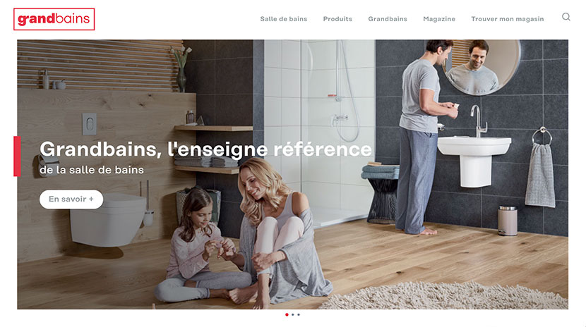 Los mejores e-commerce Grand Bains