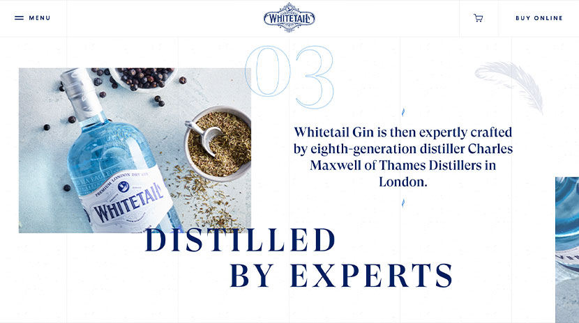Los mejores e-commerce White Tail Gin