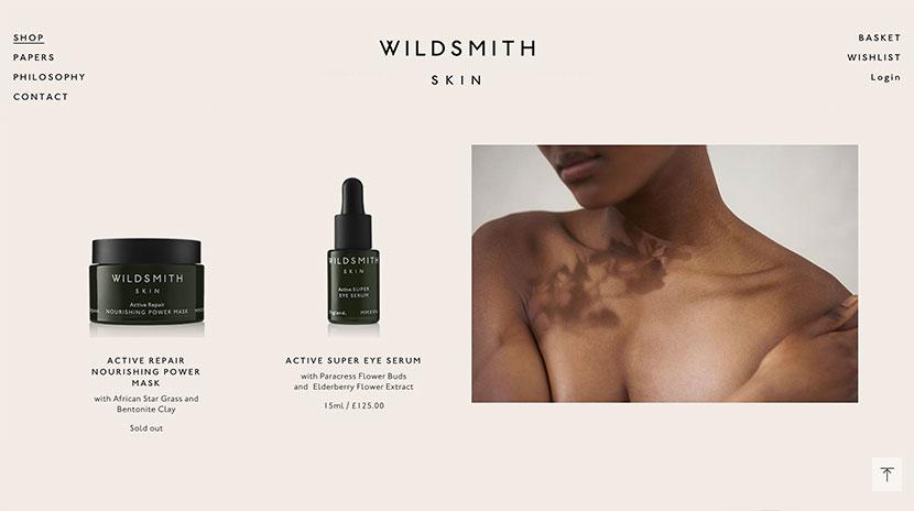 Los mejores e-commerce Wildsmith Skin