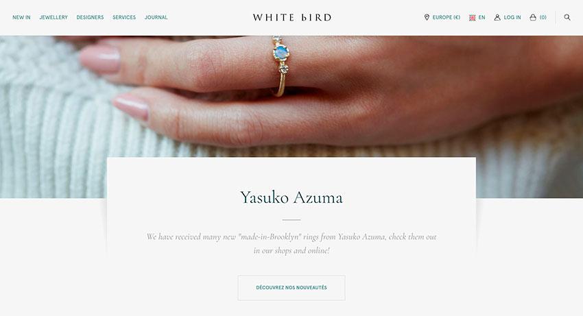 las mejores web del mes Whitebirdjewellery