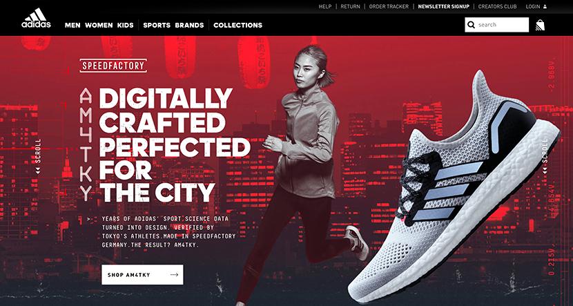 Las mejores web de junio Adidas