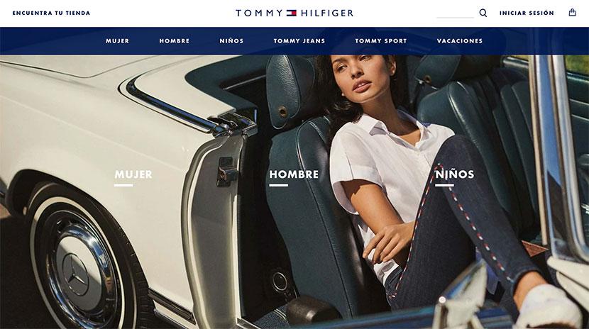 Las mejores tiendas online Tommy