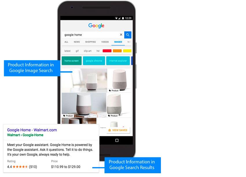 ejemplo Google Rich Snippets mobile